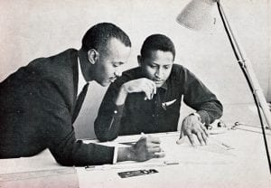 Engineers from Ethiopian Airlines 1971 annual report
