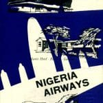 Nigeria Airways 1961 Back