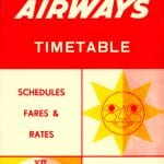 Sudan Airways timetable cover