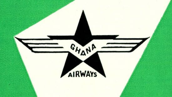 Ghana Airways 1961 Timetable
