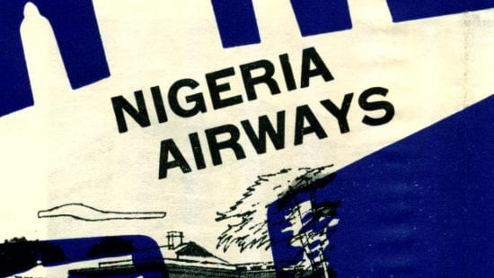 Nigeria Airways 1961 timetable