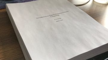 Courses and Notes