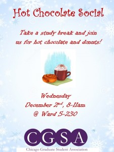 Hot Chocolate Social Flyer