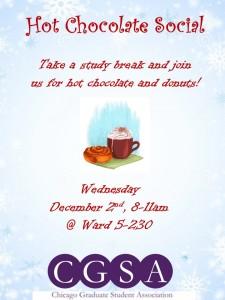 Hot Chocolate Social Flyer