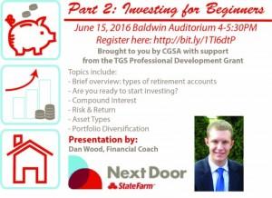 CGSA investing seminar