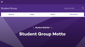 Student Group Template