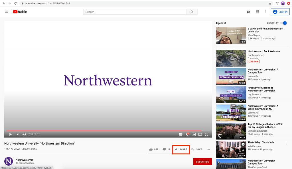 Adding video via Vimeo