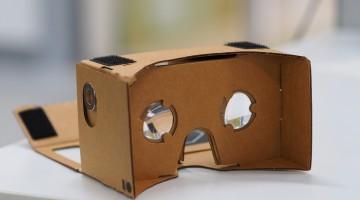 assembled Google Cardboard