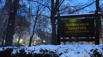 Snow at Northwestern