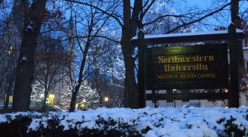 Snow at Northwestern