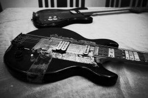 Glenn Branca modified guitar