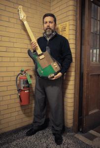 Music Librarian Greg MacAyal