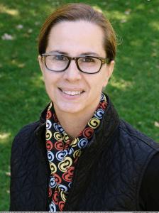 Portrait of photography professor Pamla Bannos