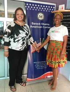 Tanikka Mitchell and Tessie Nkechi Udegboka