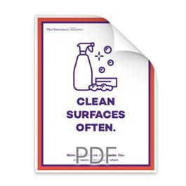 Clean Surfaces Often