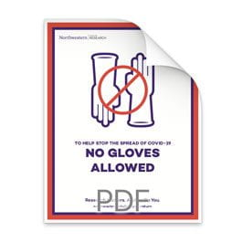 No Gloves Allowed