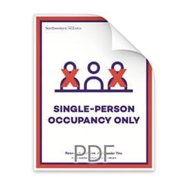 Single Person Occupancy Only Poster