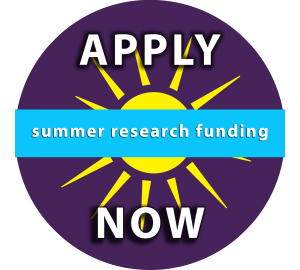 Summer Research Funding: Apply Now