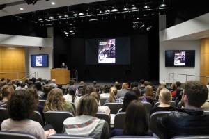 Audience at Gayle Rubin's keynote
