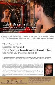 "Poster for ""LGBT Film in Brazil"" by Vagner de Almeida"