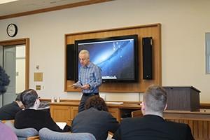 Steven Epstein at the Workshop