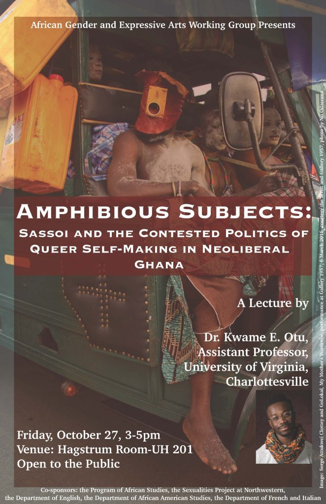 Amphibious Subjects: Sassoi and the Contested Politics of Queer Self-Making in Neoliberal Ghana