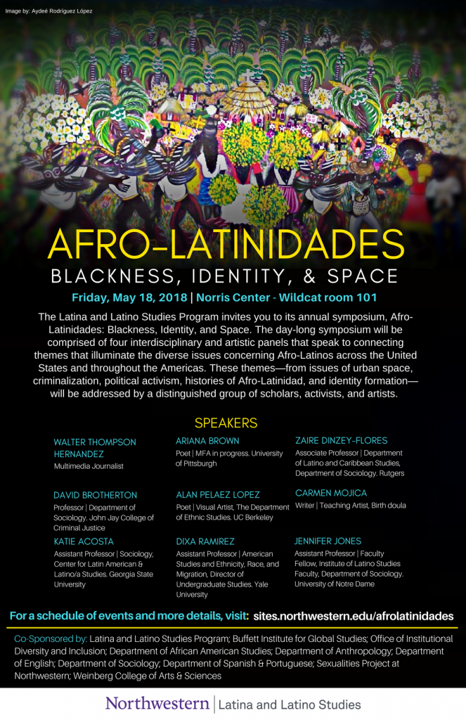 Afro-Latinidades: Blackness, Identity, & Space