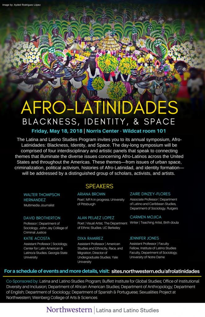 Afro-Latinidades: Blackness, Identity, & Space