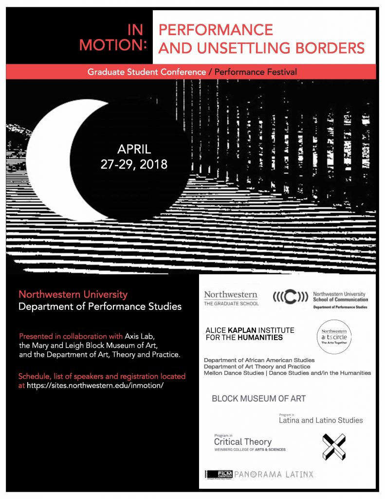 In Motion: Performance and Unsettling Borders