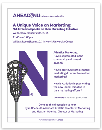 Athletics Marketing Event