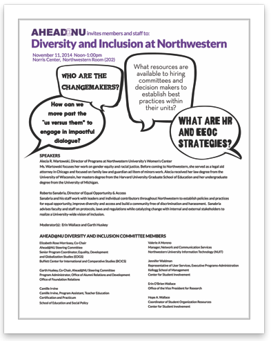 Diversity at NU Event