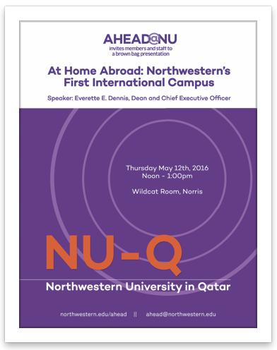 NU Q event