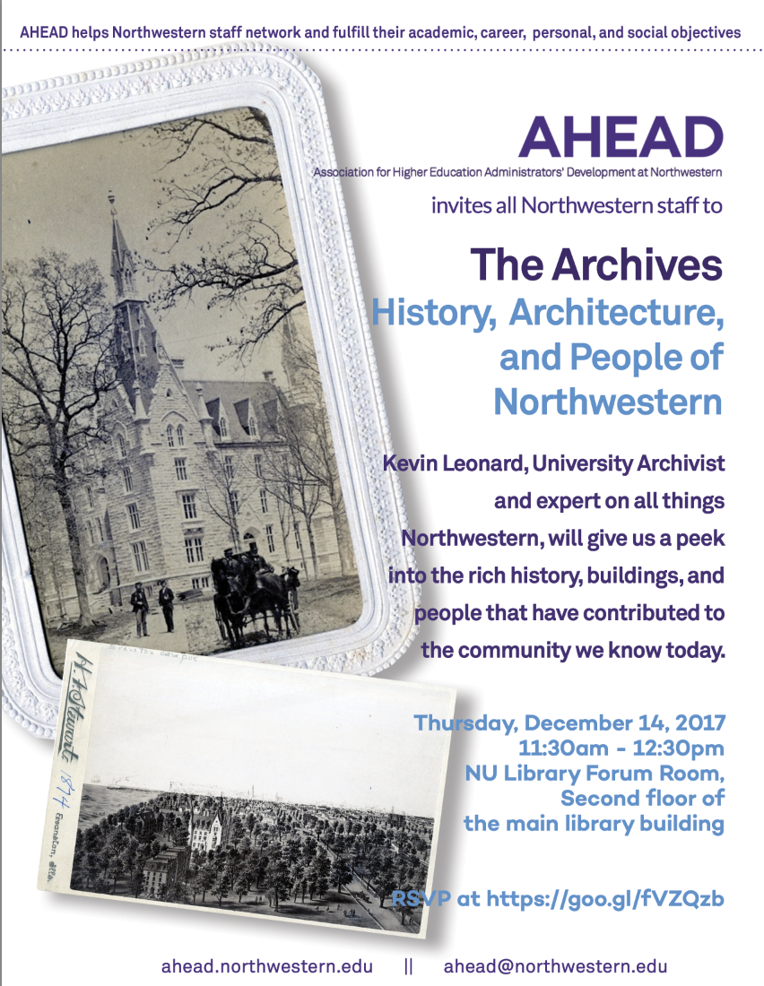 Library archives event with AHEAD