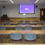 View from back of the room