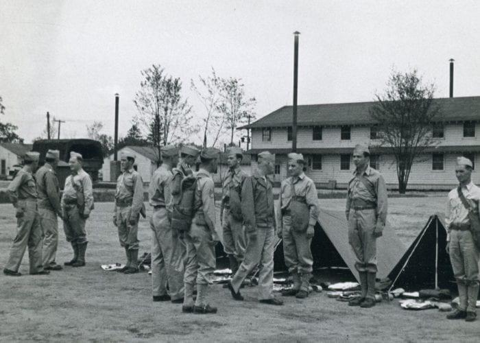 Fort Custer drills