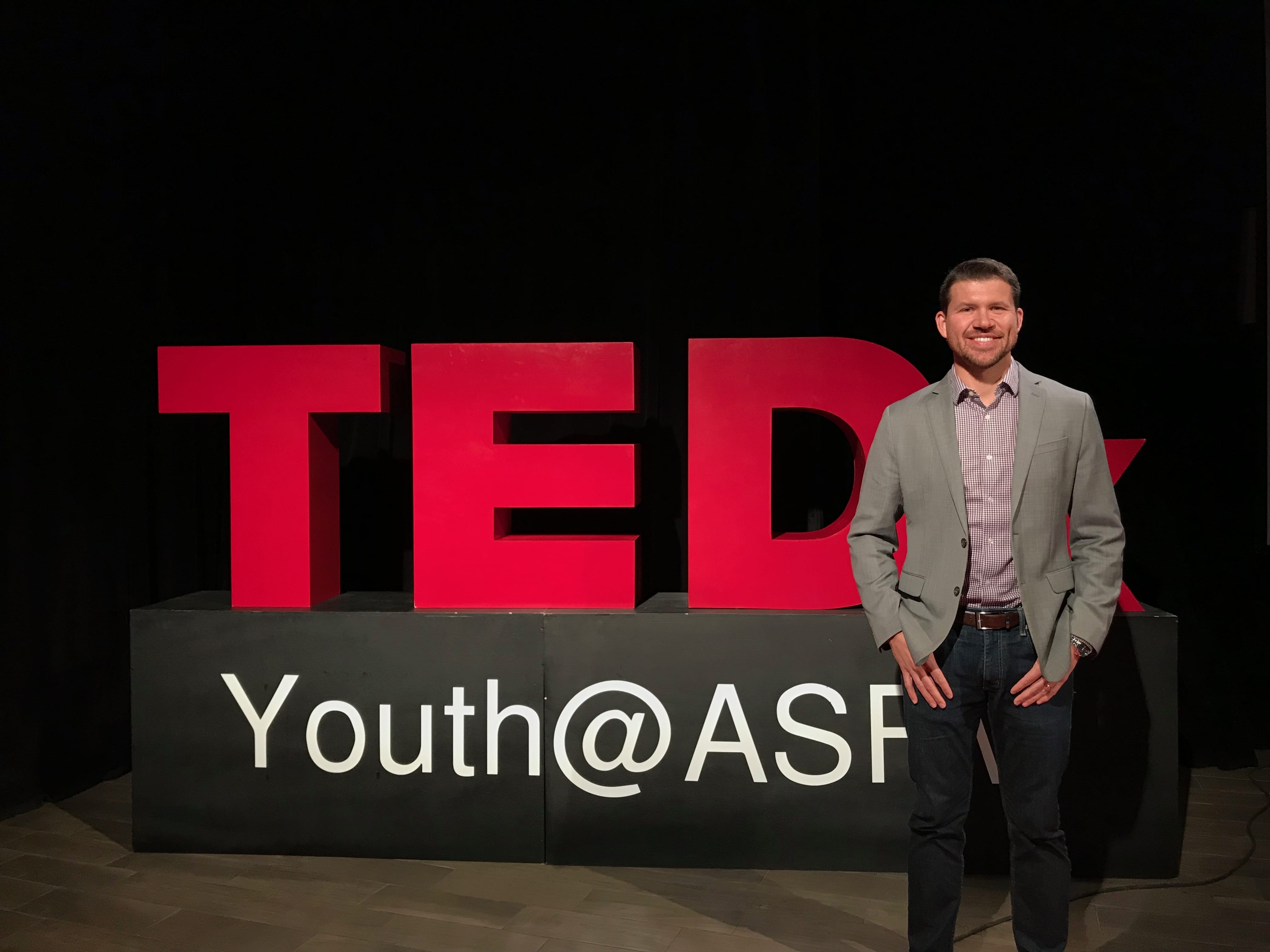 Josh gives a TedX Talk!