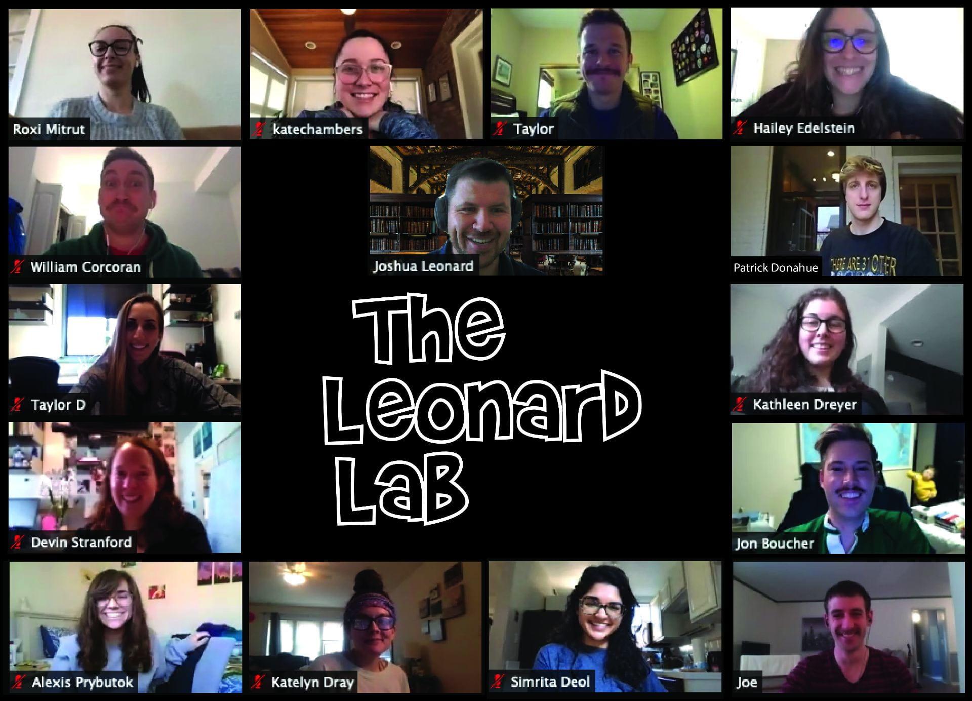 The Leonard Lab is one big wacky family!
