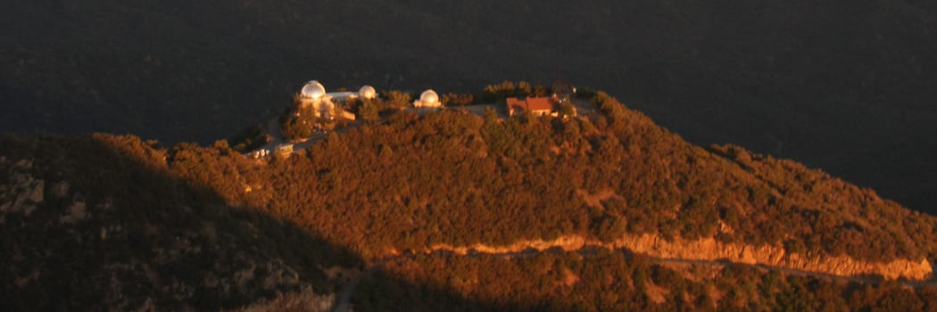 Telescopes on Mount Hopkins Ridge