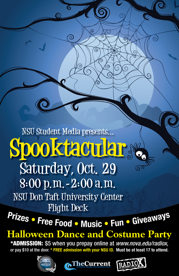Spooktacular Halloween Dance and Costume Party on October 29