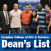 Farquhar College of Arts and Sciences Dean's List