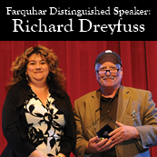 Farquhar Distinguised Speaker, Richard Dreyfuss