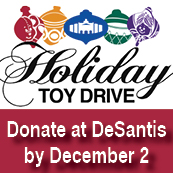 Toy and Clothing Drive