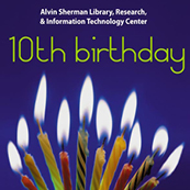 Alvin Sherman Library--10th birthday