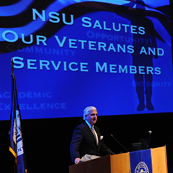 NSU Salutes Veterans and Service Members