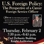 Retired US Ambassador Trivelli to Speak at NSU