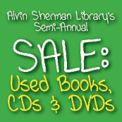 Libary--Used Book-CD-DVD Sale