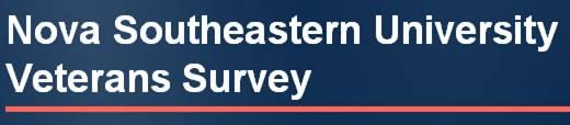 NSU Student Veteran Surveys