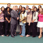 thumbnail photo of Psi Chi national honor society inductees