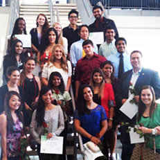 image--national biological honor society inductees