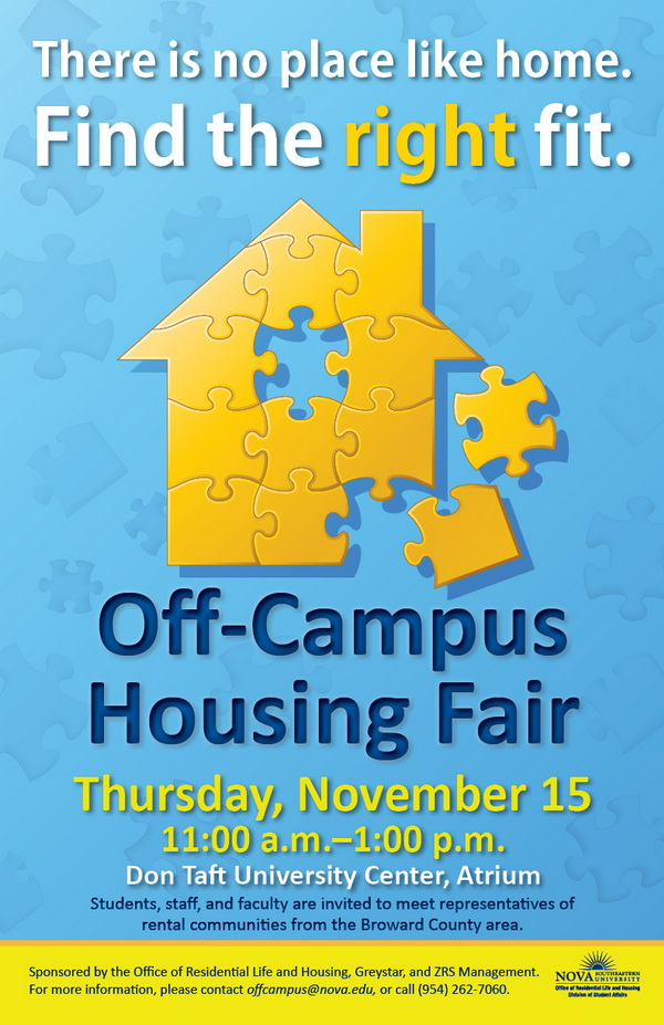 Off-Campus Housing Fair, Fall 2012
